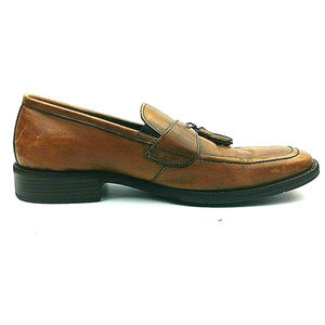JOHNSTON & MURPHY Kilt Tassel SHEEPSKIN Loafers